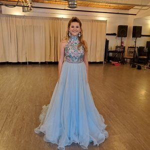 Couture Sherri Hill Pageant Gown
